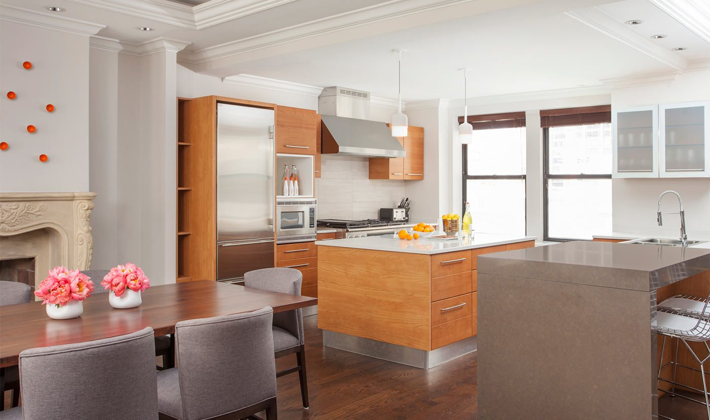 gold coast chicago apartment kitchen and dining walton residence 70 e walton luxury extended stay apartments