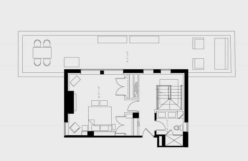 walton residence chicago penthouse three bedroom upstairs floor plan with 3 bedroom and 3.5 bath