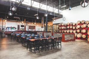 Revolution Brewing main tap room