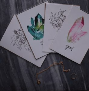 Buy custom greeting cards from All She Wrote, one of the top boutiques in Chicago for custom paper goods.